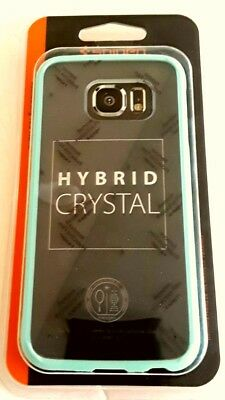 Spigen Ultra Hybrid Case cover for Samsung Galaxy S6 Edge - Crystal Clear+ Mint