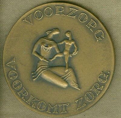 20th Century Dutch Medal Issued for All Insurance of the Netherlands
