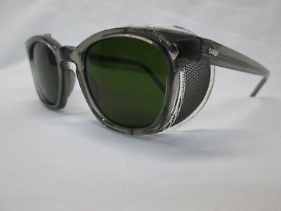 3M Safety Sunglasses NEW Steampunk Gray 3.0 IRUV Green 48 Wire Mesh Cosplay