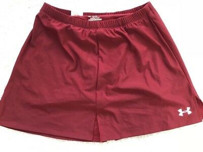 Women's Under Armour Tennis skort in Burgundy colour Size S/M