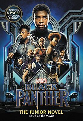 MARVEL's Black Panther: the Junior Novel by Jim McCann and Marvel (2018, Paperba