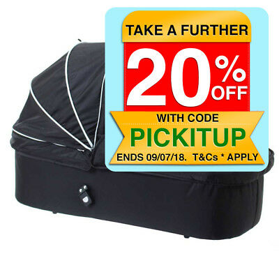 Valco Baby Black Snap Internal Bassinet for Stroller Baby/Newborn Portable Bed