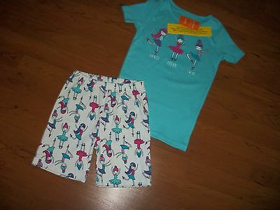 "New with tags, girls Gymboree ""Dance, Dream, Twirl"" 2 pc Gymmies, size 8, 10"