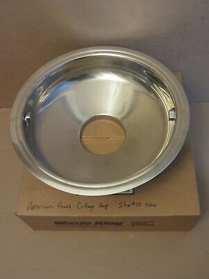 """New Waste King 2211 18"""" Sink Cone Bowl w/ 6"""" Throat Hole Stainless Steel"""