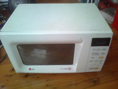 LG microwave small size