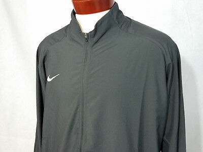 fec1b72bed0368 Nike Mens running Jacket full zip gray XL 2XL coat Wind pr woven  Lightweight NWT