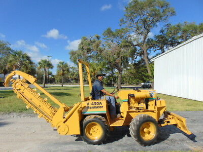 "Vermeer V430-A Trencher 4X4 Duetz Diesel 2 Spd - Only 1,782 Hours   ""ships Free"""