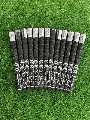 MCC Golf Pride MCC Std Black/White 60R Grips *Genuine* 13 Pcs