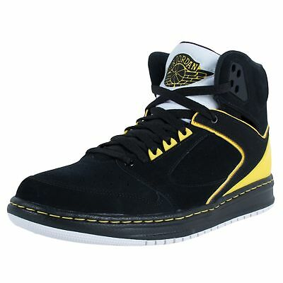 the best attitude 0bb4b add32 Nike Air Jordan Sixty Club Black Speed Yellow Metallic Silver 535790 050