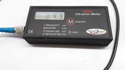 Reliabilitydirect Hand-Held Vibration Meter 908B