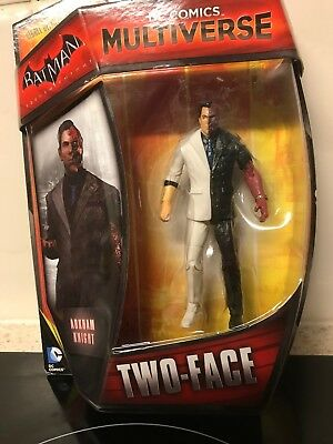 Dc-Comics-Multiverse-Batman-Arkham Knight/ Two-Face-4inch figure-Adult collector