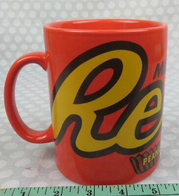 Large 24 ounce Orange Reese's Peanut Butter Cup Coffee Mug perfect dated 2009