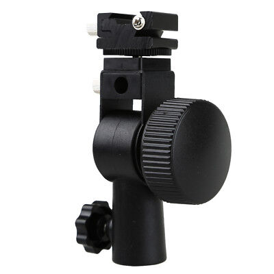 Godox D Type Hot Shoe Mount Flash Bracket Swivel Umbrella Holder for Speedlite