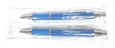 Drug Rep PLAVIX Collectible Metal Pens x 2 RARE