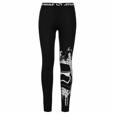 Star Wars Kids Boys Tights Junior Baselayer Pants Trousers Bottoms Compression