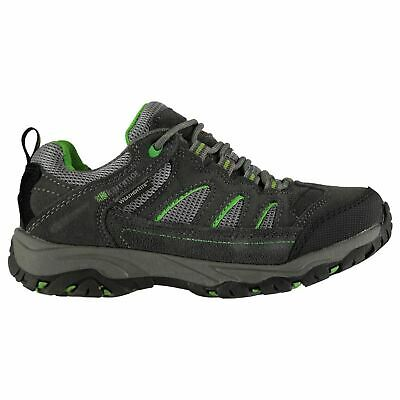 Karrimor Kids Mount Low Childrens Walking Shoes Boys Trekking Hiking Lace Up
