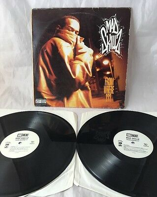 Mad Skillz.from Where???. Double 12'' Us Vinyl Lp
