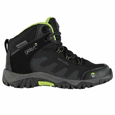 Gelert Kids Softshell Walking Boots Childs Lace Up Breathable Waterproof Padded