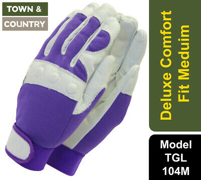 Town and Country TGL104M Premium Comfort Fit Gloves Ladies Medium Mixed Colours