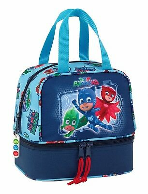 PJ Masks Hero Blue Lunch Bag School Travel Snack Box Holiday Bag OFFICIAL