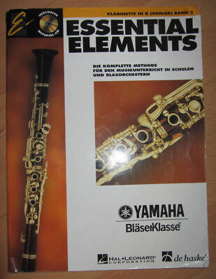 ♥ KLARINETTE ESSENTIALS Elements ♥ YAMAHA Bläserklasse ♥ Band 1 ♥