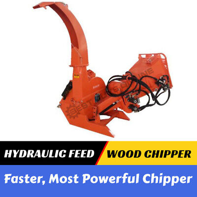 WOOD CHIPPER HYDRAULIC FEED Tree Mulcher 3 Point Linkage PTO Best Buys Online