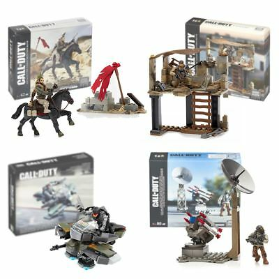 New Mega Blocks Call Of Duty Recon Outpost Or Rocket Turret w/ Figures Official