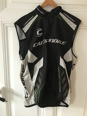 """Cannondale Herbst Weste """"Factory Racing""""  Gr. L/G"""