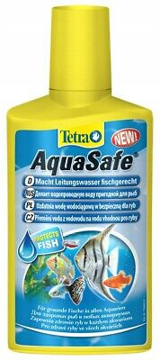 Tetra AquaSafe Fish Tank Tap Water Conditioner Dechlorinator Aquarium 500ml