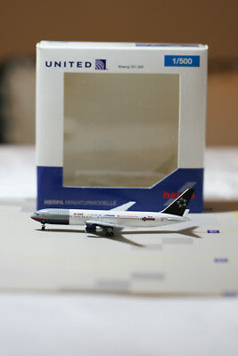 Herpa Wings (526722) 1:500 United Airlines B767-300 Star Alliance