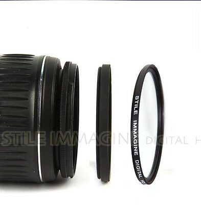 Adapter Ring 52-82 for Lens Ø 52 mm to Filter Ø 82 mm Italy Step Up