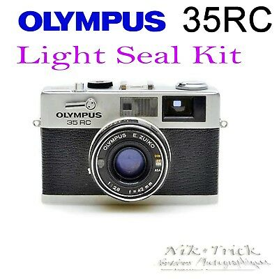 Olympus 35RC ~ Lazer Cut Replacement Light Seal Kit ~ Enough for 3x Cameras!
