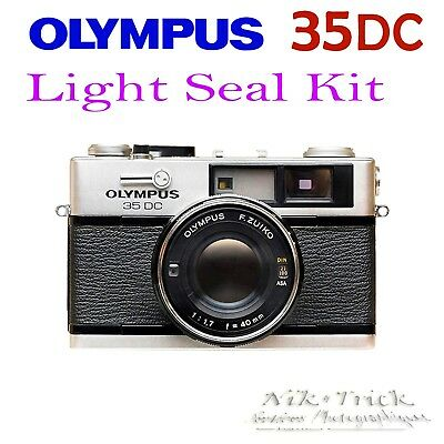 Olympus 35DC ~ Lazer Cut Replacement Light Seal Kit ~ Enough for 3x Cameras!
