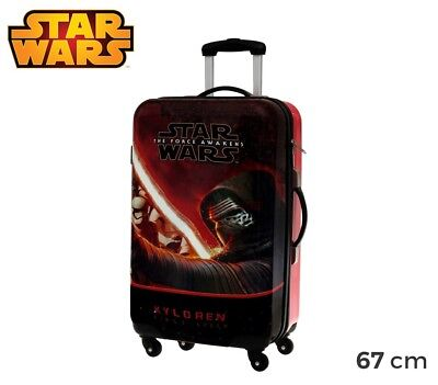 4641551 Trolley da viaggio rigido in ABS Star Wars 67 x 42 x 24 cm