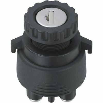 SCI K3-33 Key Switch 37 x 51mm 4 Position On-Off-On-(On)