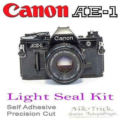 Replacement Light Seals Kit ~  ~ Canon AE-1 & A1 ~ Precision Laser Cut