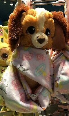 Disney Parks Baby Lady in a Blanket Pouch Plush New with Tags Swaddle NEW