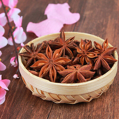 50g Star Anise Aniseed Chinese Kitchen Cooking Food Hot Pot Seasoning Spice New.