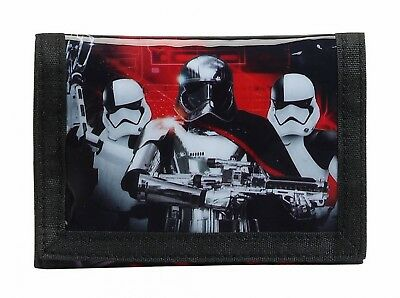 "Star Wars VIII ""The Last Jedi""  Wallet Kids Coin Purse Red Original OFFICIAL"