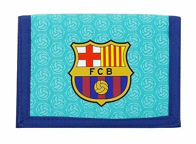 F.C. Barcelona 2nd Kit Mens Official Wallet Coin Purse OFFICIAL