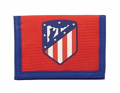 "Atletico de Madrid ""Coraje"" Kids Mens Red Official Wallet Coin Purse OFFICIAL"