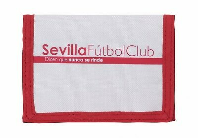 Sevilla F.C Spanish League Kids Mens Red Official Wallet Coin Purse OFFICIAL