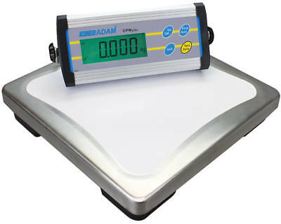 Adam Equipment CPWplus 200 Platform Weighing Scale, 440lb/200kg x 0.1lb/50g