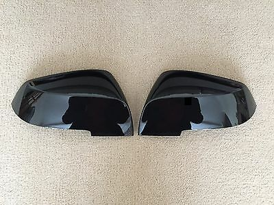 GLOSS BLACK GRADE C WING MIRROR COVERS BMW 1/2/3/4 SERIES F20 F32 F34 F36 M i3