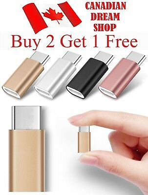 Micro USB to USB 3.1 Type C Aluminum Alloy Adapter cable charger converter