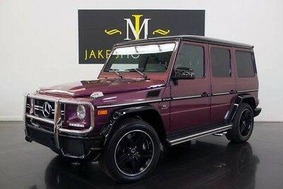 2015 Mercedes-Benz G-Class G63 AMG SPECIAL EDITION ($158,075 MSRP!) 2015 G63 AMG, SPECIAL EDITION, AMG STUDIO PKG! 6K MILES! WARRANTY UNTIL 9/2021