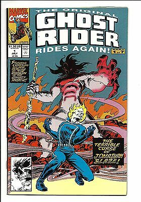 The Original Ghost Rider: Rides Again # 1 (July 1991), Nm