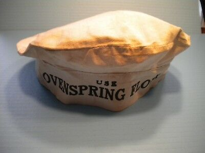 Advertising Baker's Hat From Ovenspring  Flour Company