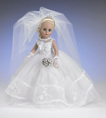 """Tonner Effanbee  13"""" Fashion Toni """"Here Comes the Bride"""" Doll"""