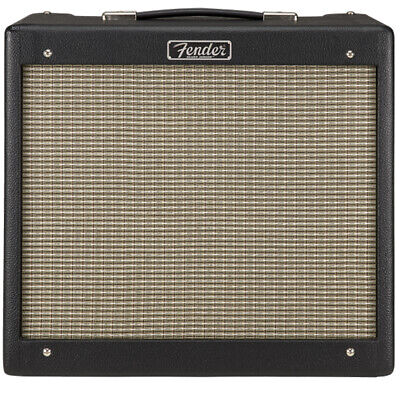 "Fender Blues Junior IV 15W 1x12 Tube Amp Guitar Amplifier + 12"" Speaker - Black"